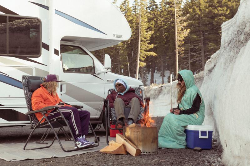Russell Winfield Parking Lot Campfire