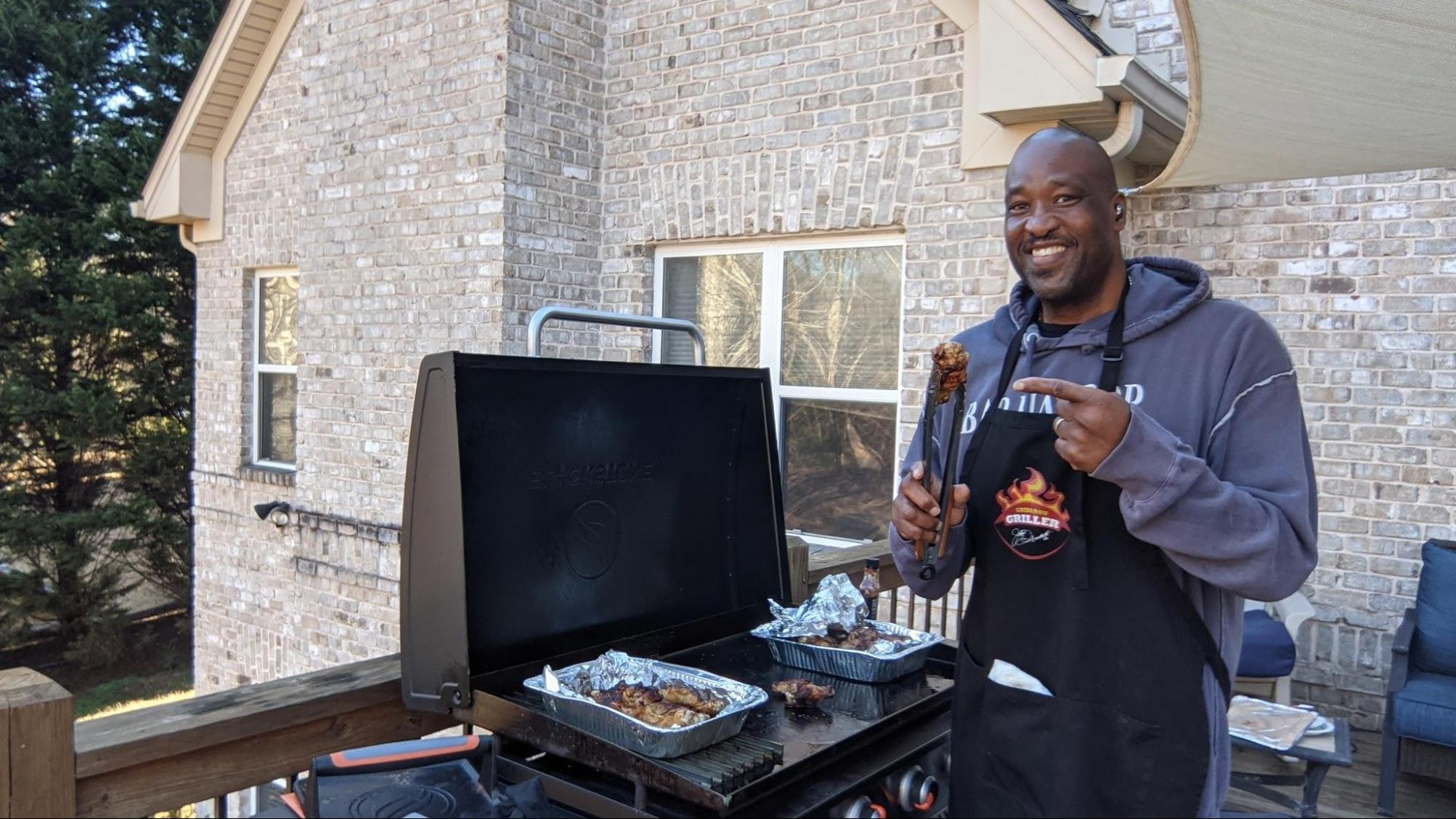 keith sims at the grill