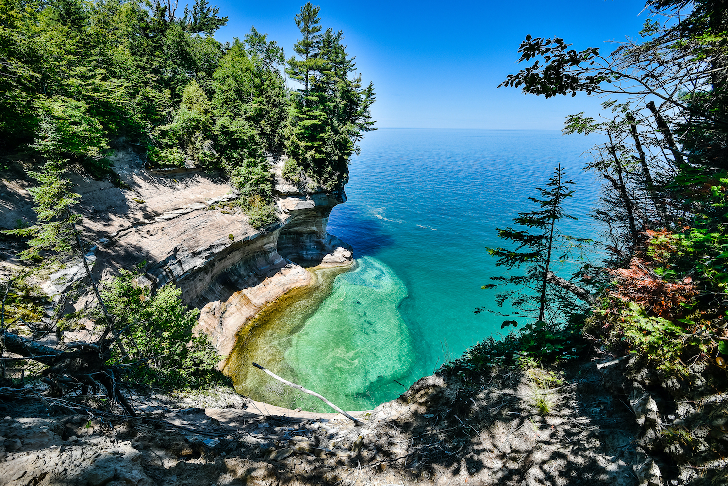 Pictured Rocks National Lakeshore water