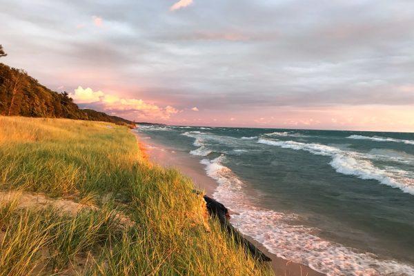 A Lake Michigan Evening