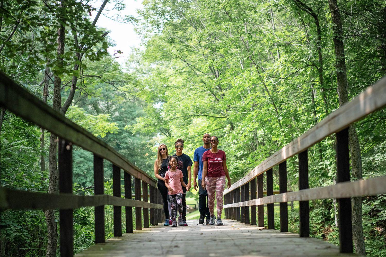 Demetrius and Family New York Hiking