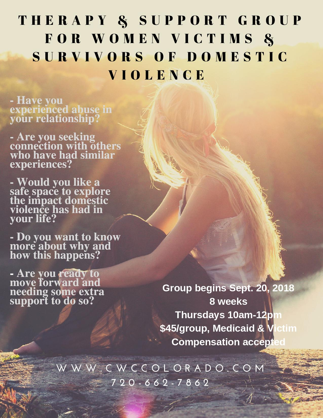 Therapy Amp Support Group For Victims Amp Survivors Of