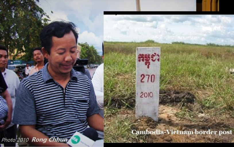 Mr Rong Chhun, Representative of Cambodia Watchdog Council - CWC and CCU Leader