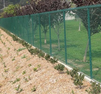Green Vinyl Fencing