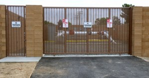 Design and build gates to accommodate your specific security requirements