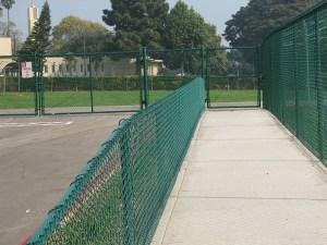Santa Ynez Green Vinyl Fence and Gates