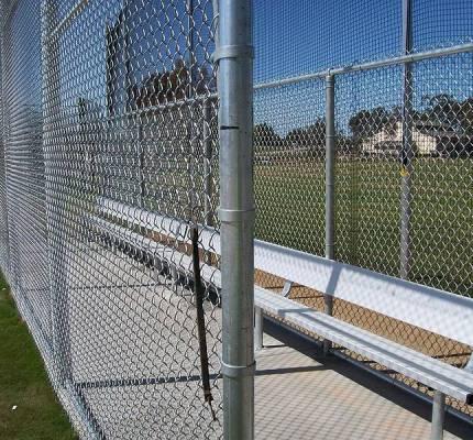 Backstop Sports Field