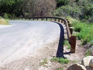 Corten Guardrail Installation