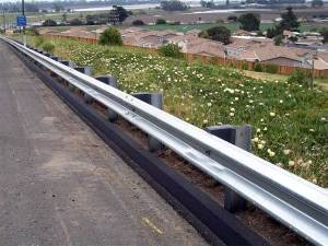 Metal Beam Guardrail