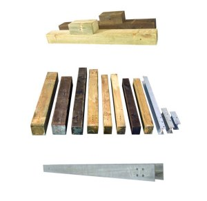 Steel & Wood Posts for Sale
