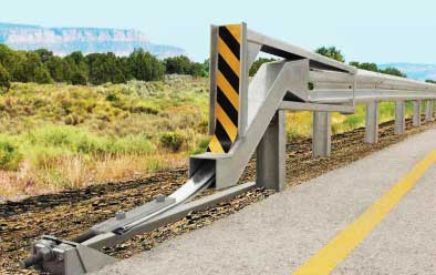 SoftStop Guardrail Terminal System