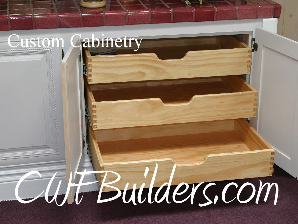 how to build cabinet drawers