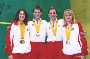 CG98 - England's Men's & Ladies Doubles golds 5822