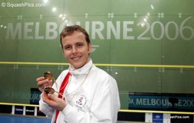 CGD15 Double gold medallist Peter Nicol 06CG7997
