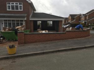 C Whyman Building Services Cannock - Garage Extension