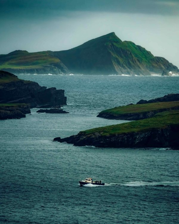 Boatman Returns To Shore, Kerry - C Whyte Photography