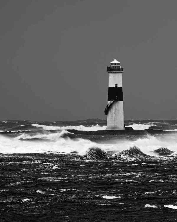 Stormy Seas At Blackrock Lighthouse - C Whyte Photography - Sligo - Ireland
