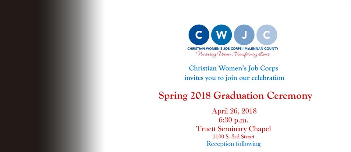 CWJC 2018 Spring Graduation