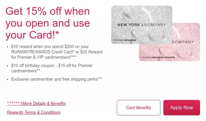 New York And Company Credit Card Payment >> Www Nyandcompanycard Com Login And Register In Ny C Runwayrewards