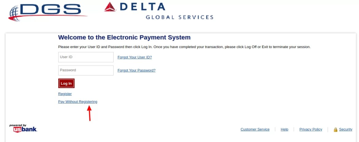 Mydgs net - How To Access To The Delta Global Service Account