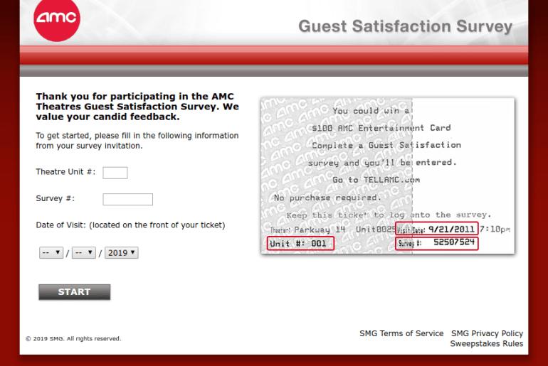 www tellamc com - Take TellAMC Survey To Win $100 Gift Card