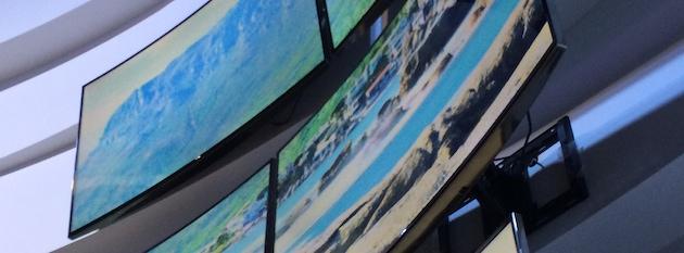 Samsung Curved UHD Screens