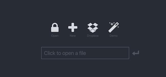 KeeWeb's Interface