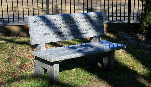 Why Does Hollywood Cemetery Need a Michael Shaara Memorial Bench?