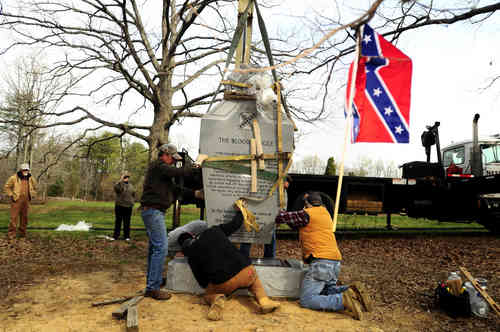 Monument to South Carolinians Unveiled on Spotsylvania Battlefield