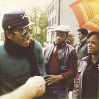 Michael Jackson in Confederate Kepi