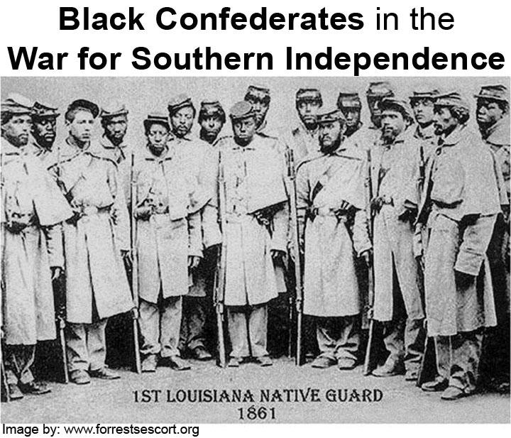 Intentionally Altered Image of Louisiana Native Guard (Union)