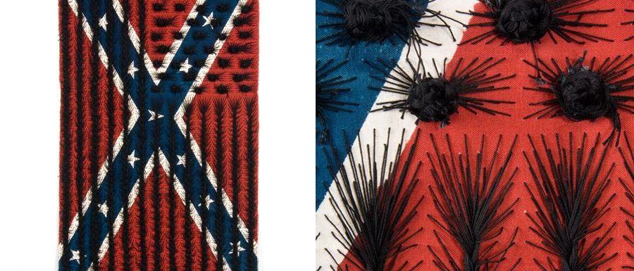 Confederate Black Hair Flag