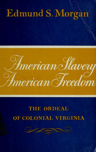 slavery and freedom the american paradox Slavery and freedom: the american paradox the development of both slavery and freedom as we have history the journal of american history.