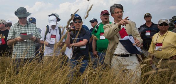 Pete Carmichael at Gettysburg