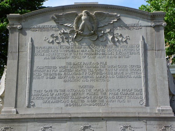 Shaw Memorial, 54th Massachusetts