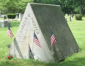 Evergreen Cemetery in Stoughton, MA