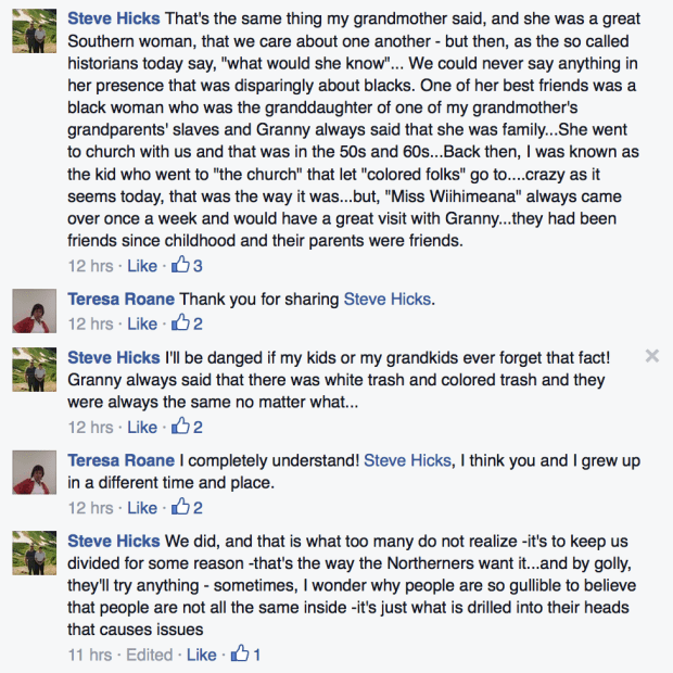 Black Confederate Facebook