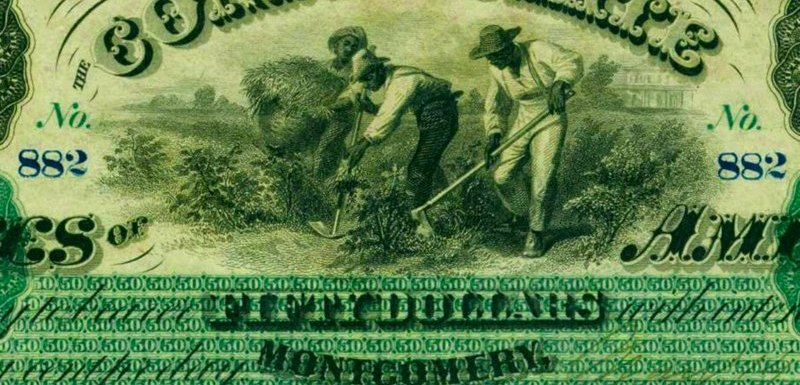 When Slaves Adorned American Currency