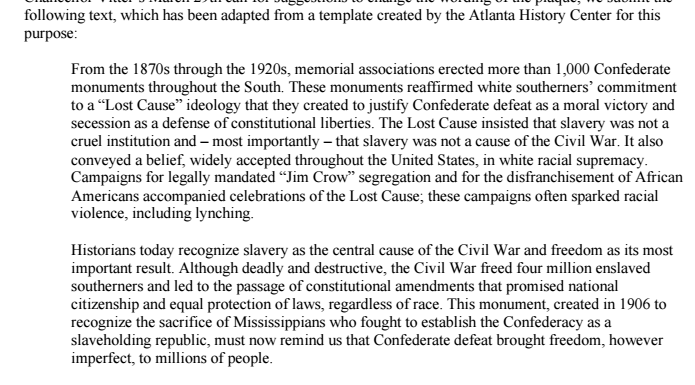 Redefining Confederate History Month in Mississippi