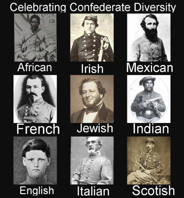 Black Confederate Meme
