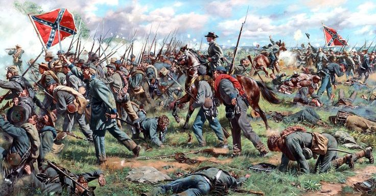 Pickett's Charge Failed 153 Years Ago Today