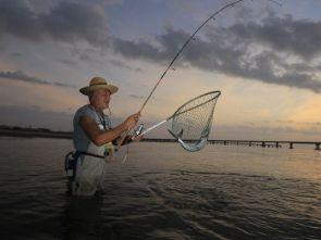 wetland fishing