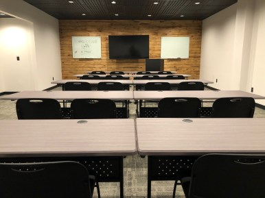 Conference Room - Classroom Set Up