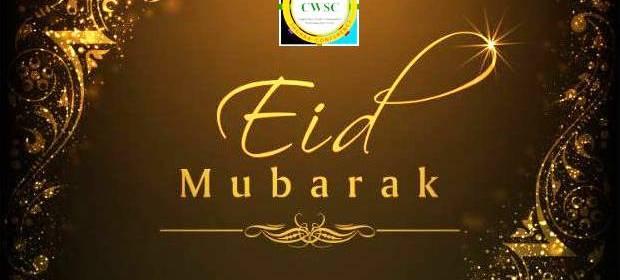 Eid Mubarak from CWSC