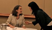 Jennifer Parker (2010 Caucus President), Leilei Zeng (2010 Chair, Canadian Section)