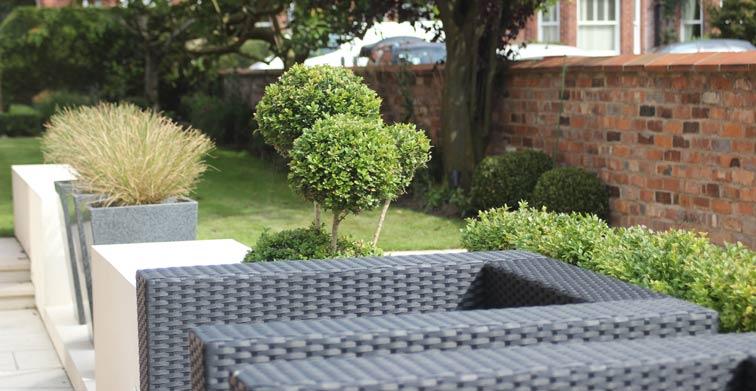 Knutsford Garden - CW Studio, Landscape Architects, Manchester