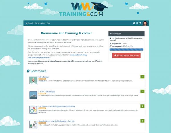 example learnybox training