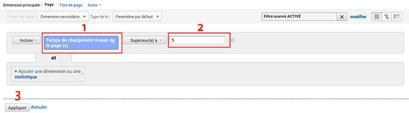 Google Analytics Advanced filter
