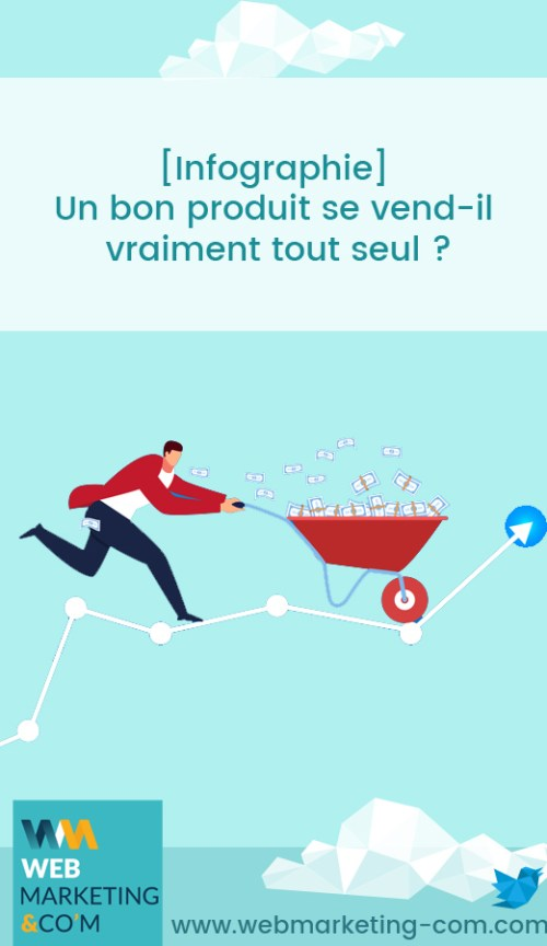[Infographie] Is a good product really selling on its own? via @webmarketingcom