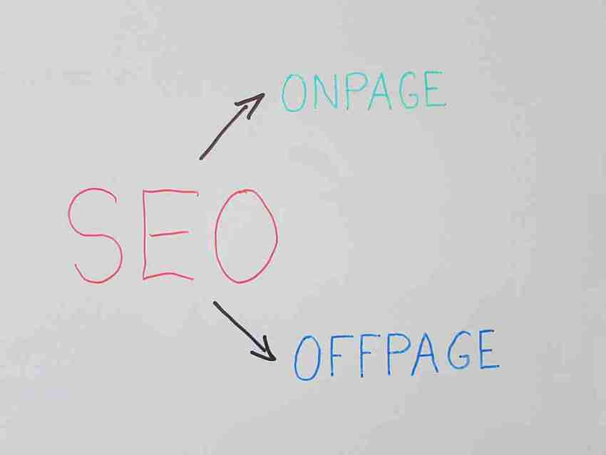 SEO off page SEO on page